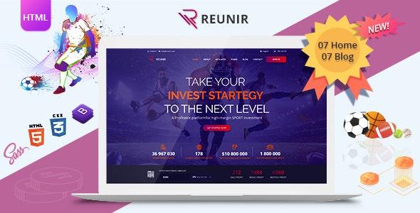 Reunir – Sports Investment Templates - Business Corporate