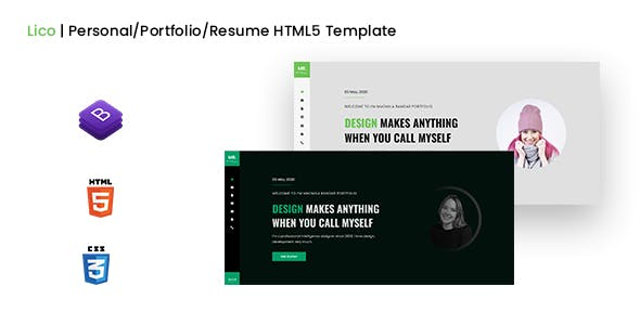 Lico | Personal/Portfolio/Resume HTML5 Template