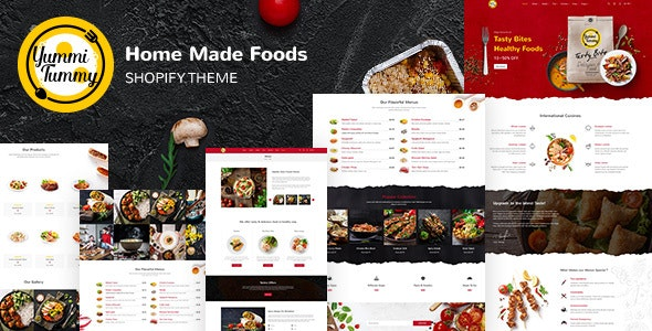 Yummi - Food Delivery Shopify Theme - Shopping Shopify