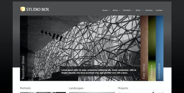 Studio Box | WordPress Theme
