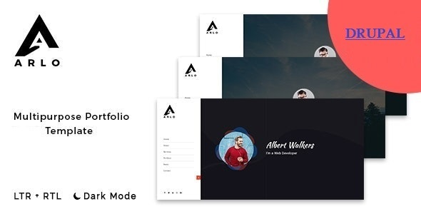 Arlo - OnePage Portfolio Drupal 8 Theme - Portfolio Creative
