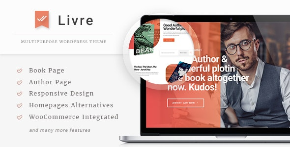 Livre - WooCommerce Theme For Book Store - WooCommerce eCommerce