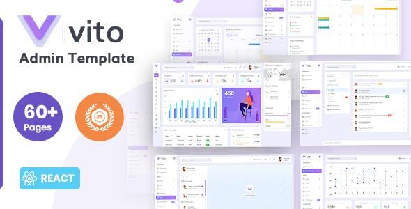 Vito - React Admin Dashboard Template