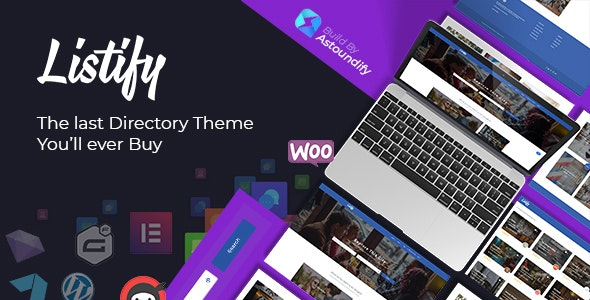 Listify - Directory WordPress Theme - Directory & Listings Corporate
