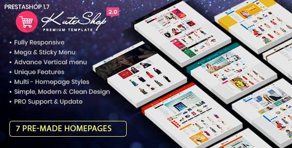 KuteShop - Fashion, Electronics & Marketplace Prestashop 1.7 Theme (RTL Supported)