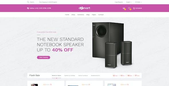 Demart - Premium MegaStore Prestashop 1.7 Theme