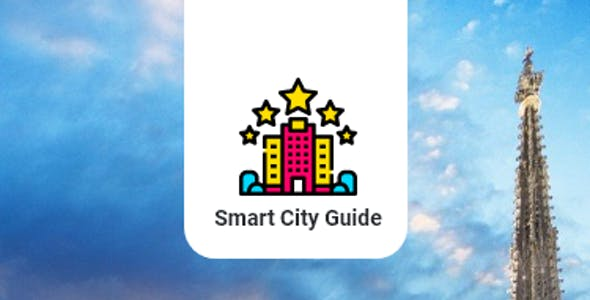 Smart City Guide - XD Mobile App & Prototyping