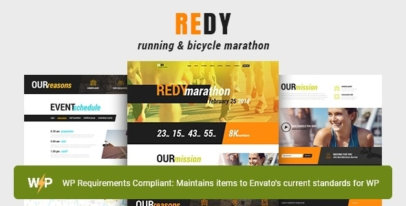 Redy | Marathon & Running Sports WordPress Theme - Health & Beauty Retail