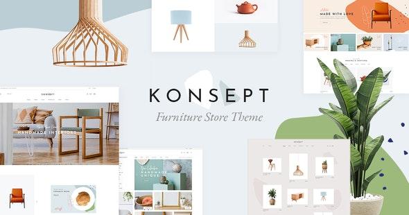 Konsept - Furniture Store Theme - WooCommerce eCommerce