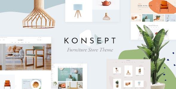 Konsept - Furniture Store Theme