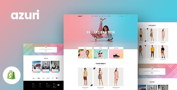 Gts Azuri - Responsive Shopify Theme