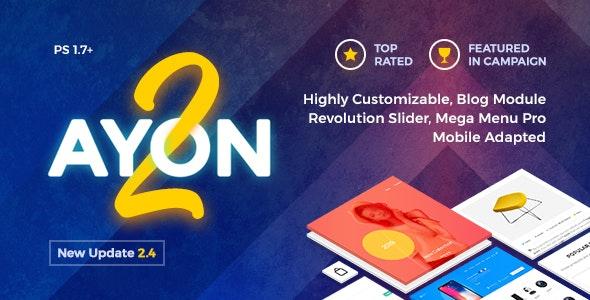 AYON - Multipurpose Responsive Prestashop Theme - PrestaShop eCommerce