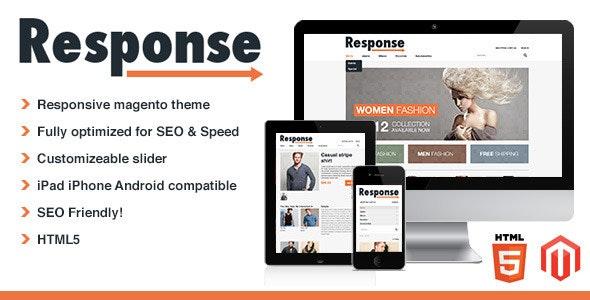 Response - Responsive Magento Theme - Magento eCommerce