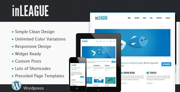 inLEAGUE Responsive Blog/Portfolio Wordpress Theme - Portfolio Creative