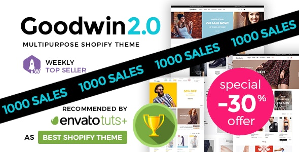 Goodwin - Ultimate Responsive Shopify Theme - Fashion Shopify