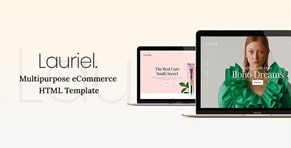 Lauriel - Multipurpose eCommerce HTML Template - Fashion Retail