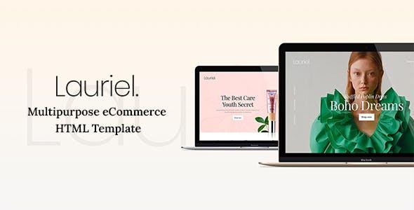 Lauriel - Multipurpose eCommerce HTML Template