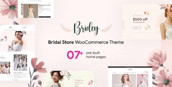 Bridey - Bridal Store WooCommerce WordPress Theme - WooCommerce eCommerce