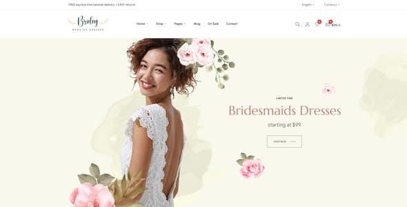 Bridey - Bridal Store WooCommerce WordPress Theme