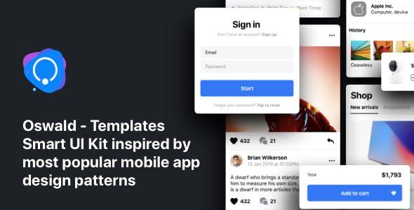 Oswald - Templates Smart UI Kit [Figma]