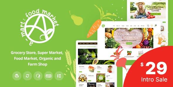 Download A-Mart - Organic Products Shop WordPress Theme
