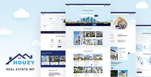 Houzy - Real Estate WordPress - Real Estate WordPress