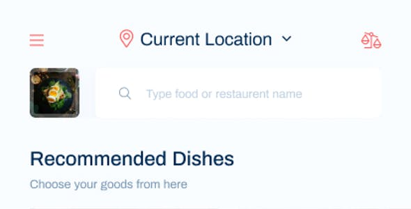 Foodles - Food Delivery Mobile App Design
