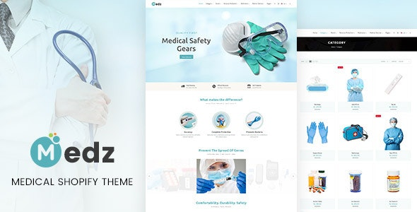 Medz - Medical Products Shopify Theme - Health & Beauty Shopify