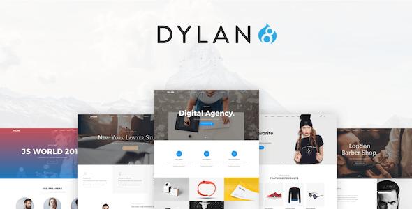 Dylan - Responsive Multi-Purpose Drupal 8 Theme - Creative Drupal
