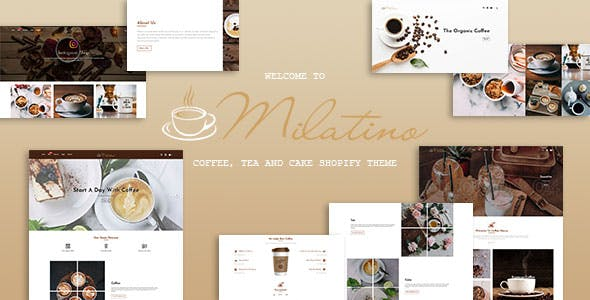 Milatino - Coffee & Tea and Cake Shopify Theme