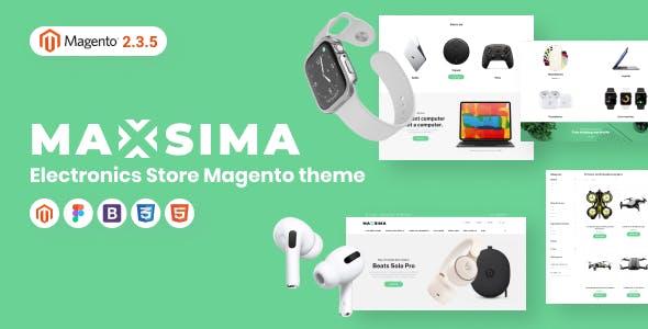 Maxsima - Smart Gadgets Store Magento 2 Theme