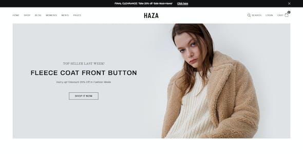 Haza - Multipurpose Fashion Prestashop Theme