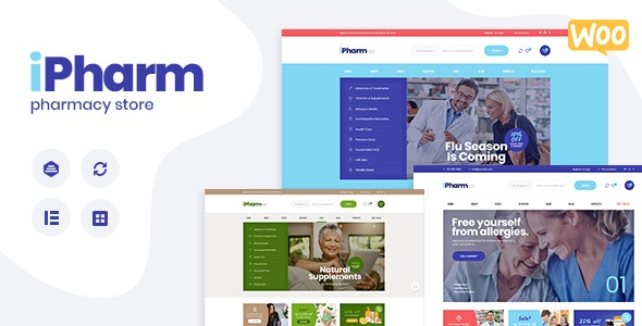 IPharm - Online Pharmacy & Medical WordPress Theme - WooCommerce eCommerce