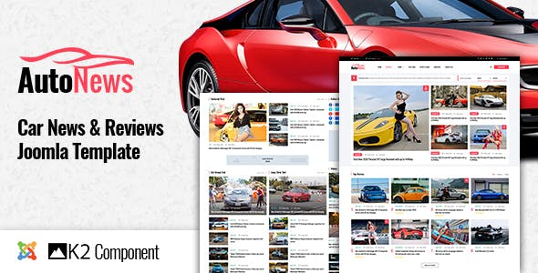 Download AutoNews - Cars News, Cars Review Joomla Template