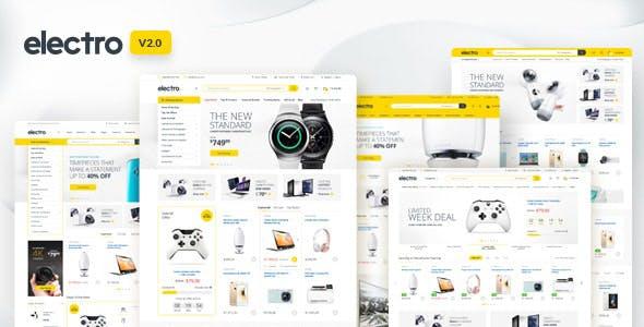 Electro 2 Premium Responsive Magento 2 | RTL supported