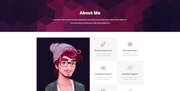 CVPro - Creative CV and Portfolio Template Kit