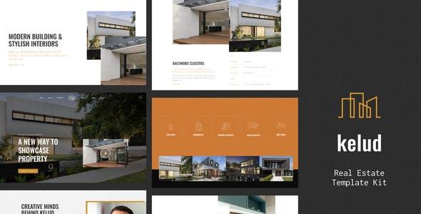 Kelud - Real Estate Template Kit
