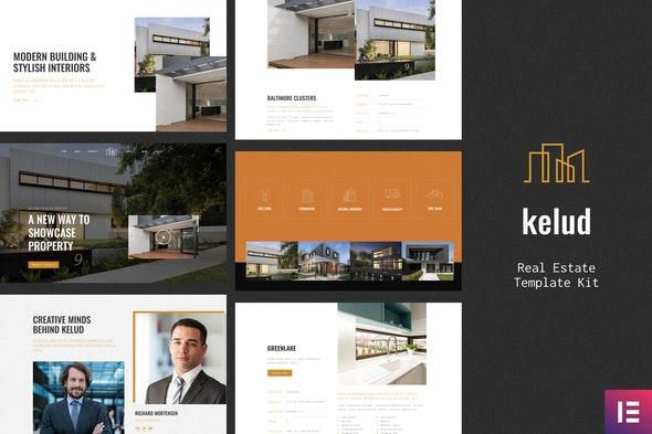 Kelud - Real Estate Template Kit - Real Estate & Construction Elementor