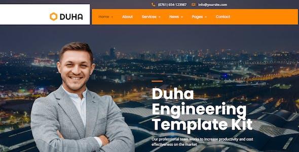 Duha - Engineering & Industrial Template Kit