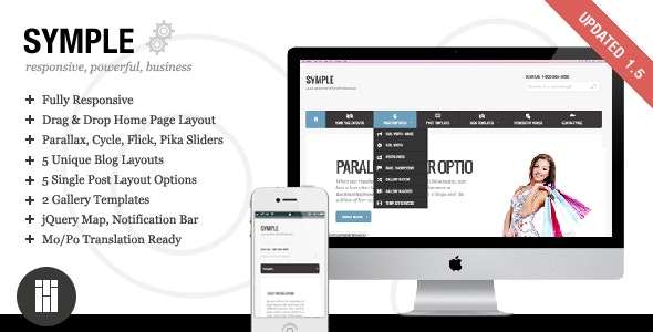 Symple - Business, Responsive, WordPress - Business Corporate
