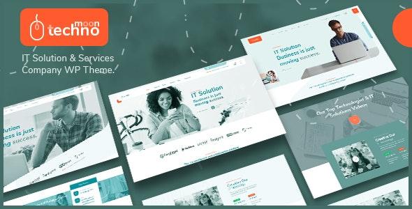 TechnoMoon - IT Solution & Services WordPress Theme - Business Corporate