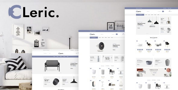 Cleric - Furniture Shop HTML Template - Shopping Retail