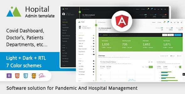 Mooli Hospital - Bootstrap Admin Template & Ui-Kit - Admin Templates Site Templates