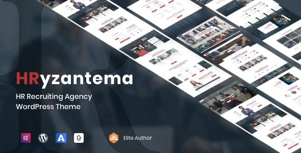Hryzantema - Human Resources & Recruiting WordPress - Business Corporate