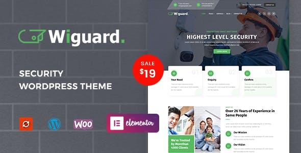 Download Wiguard - CCTV & Security WordPress Theme