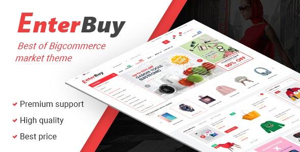 EnterBuy - Multipurpose Stencil Responsive BigCommerce Theme & Google AMP Ready - BigCommerce eCommerce