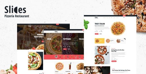 Download Slices - Pizza Restaurant WordPress Theme