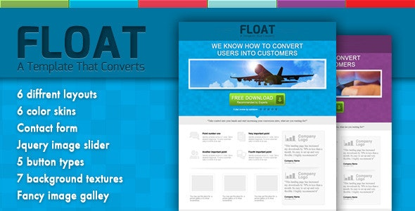 Float - Landing Page - Landing Pages Marketing