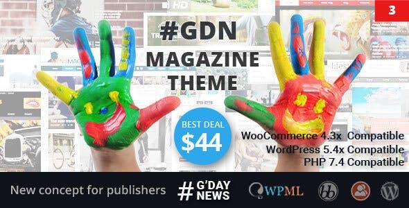 GDN Magazine Theme