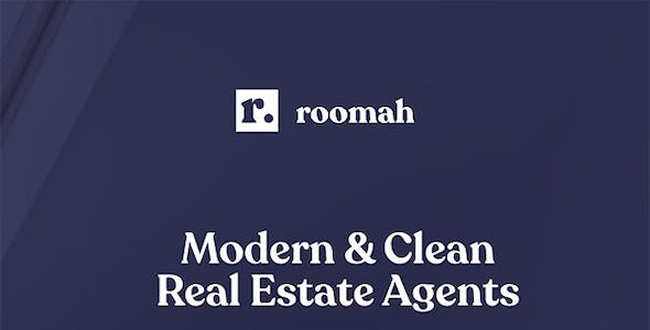 Roomah - Real Estate Agent Elementor Template Kit
